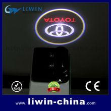 low defective rate led logo car door shadow projector light ,hotest sale led car logo door light ghost led car logo for toyota