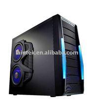 Super nice newest design ATX SECC 0.6mm computer gaming case