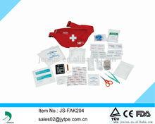 FDA/CE outdoor first aid kit,travel belt emergency bag