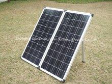 160w 12v/18v folding solar panel/ foldable solar panel kit