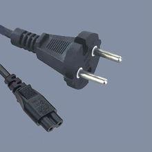 Korea power plug with IEC320 C7 connector,ktl power cord