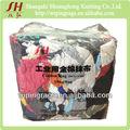 De color oscuro de algodón trapos de limpieza( material nuevo)