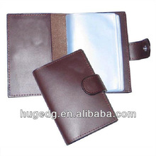 durable Leather Business Card Holder for men