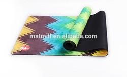 Suede yoga mat 2014 new fashion sport