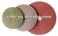 diamond flexible polishing pad & backer