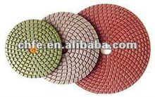 diamond flexible polishing pad & backer
