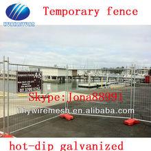 Hot-dip galvanized temporary yard fencing, PVC yard temporary fencing (factory)