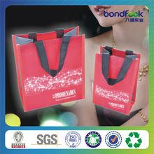 eco-friendly PP nonwoven lamination shopping bag