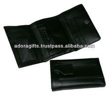 ADALW - 0030 ladies genuine leather wallet/ fashion wallets ladies/ tri fold branded ladies wallets