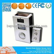 Ce Certificate Pir Alarm Auto Call Solar Motion Alarm with Remote Control,Solar Panel