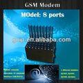 Usb/rs232 8 ports gsm sms modem wavecom modem carte sim gsm modem pcmcia