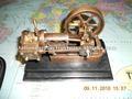 el motor de vapor modelo