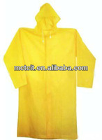 Eco-friendly Material Top Quality Low Price Disposable Raincoat