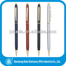 2014 Novelty low price cross metal ball pen cross pen refills