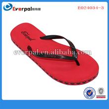 nuevo damas sexy tanga sandalias de color rojo único con la impresión del corazón