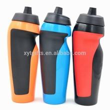 Squeeze Design Plastic Sport Drink Bottle,600ML BPA Free Drink Bottle