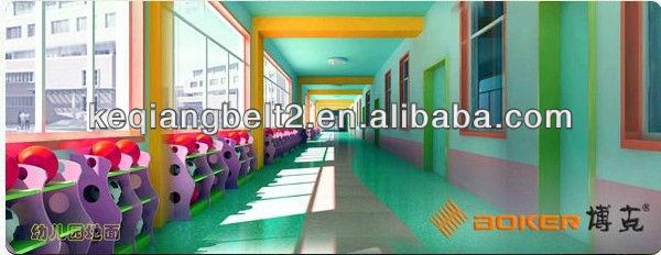 pvc sports floor for kindergarten, pvc flooring for nursery school