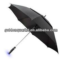 Top quality golf umbrella with air vent( Social Audit and BSCI factory)