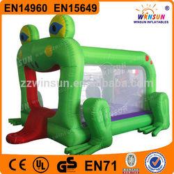 Animal Design Best HOT Commercial Inflatable Frog Jumper House