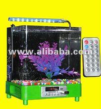 Mini MP3 Music Aquarium,Mini MP3 Music Acrylic fish tanks