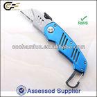 Portable Carabiner Box Cutter Knife/ hot wallpaper cutting knife