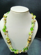Green Shell Latest Jewelry Design Necklace