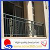 decorative wrought iron window fence