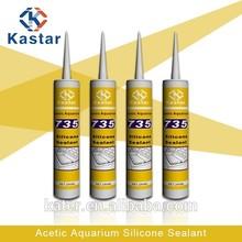 water & mildew resistant aquarium silicone sealant tube