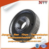 China Manufacturer DIN3962 Grade 6 Involute Helical Gear For Machinery