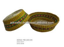 seagrass fruit basket