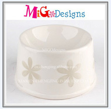 Wholesale Art Craft Factory Manufacture OEM Design Ceramic Personalized Dog Bowl For Food And Water