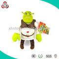 Custom pelúcia shrek& dos desenhos animados shrek& macio brinquedo shrek