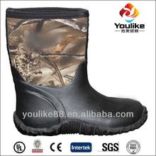 Yl8081 Hotsale Camo Neoprene botas de pesca para as mulheres