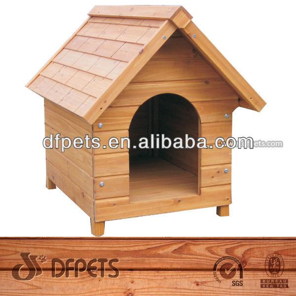 Large Wooden Dog Kennel DFD008