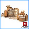 4 person picnic bag picnic set backpack outdoor picnic cooler bag