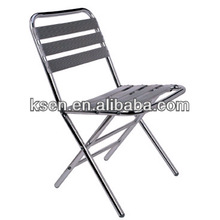 Light weight aluminum folding chair KC-C99