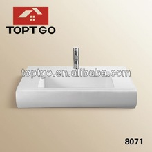 Latest Model Ceramic Hand Washing Sinks for Home 8071