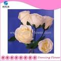Atacado artificial decoração flor rosa bouquet( sfch- 06)