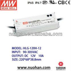 Meanwell 120W 12v Single Output LED driver /12v 120w Power Supply/12V waterproof power supply/12V 120W power supply