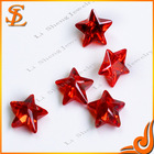 Whole Sale Grade AAA star shape glass stones for jewelryfor jewelry making