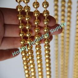Home Decor Gold 8mm Metal Bead Curtain