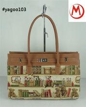 guangzhou new design fashion exporter handbag,lady elegant xhoulder bag 2014