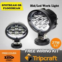 Promotion 27w LED tractor working lights,Side By Side UTV,led lighting