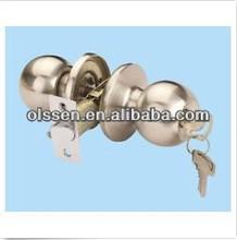 European style passage set door handles