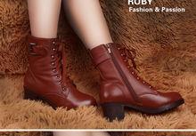 2014 fashion korean cheap winter snow boots women for girls