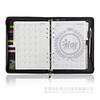 2014 2015 a5 personal pu leather organizer planner notebook agenda diary with zipper