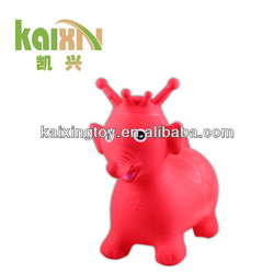 Non-pollute PVC Inflatable Jumping Toy Rocking