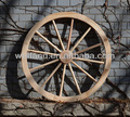 Roues en bois, Jardin Wagon roues
