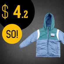 Kids' Pongee Dobby PVC Coated Winter down jacket Garment