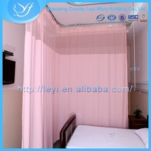 LY-2 Polyester Pink Hospital Cubicle Curtain Design Fabric